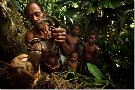 hunting-coconut crab-Rah Lava-Banks-Vanuatu