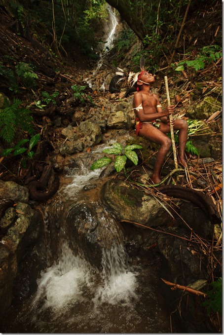 Traditional-boy-near-waterfall-South-West-Bay-Malekula